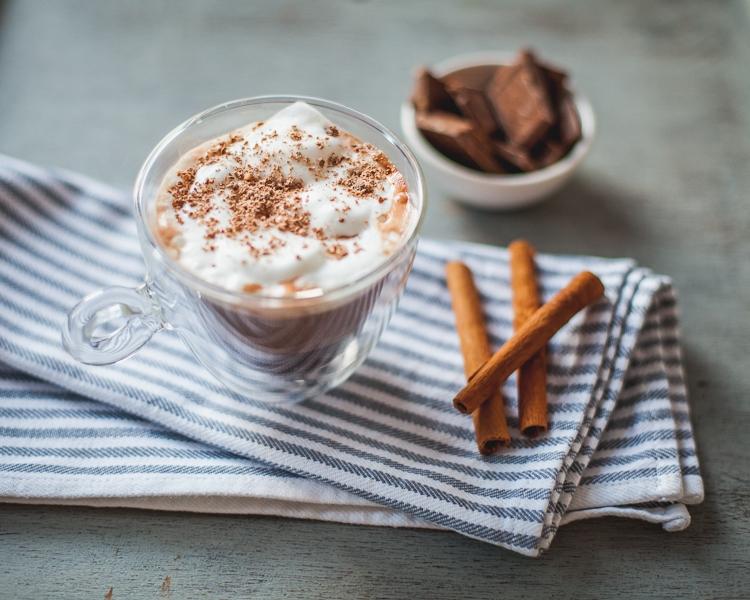przepis na pyszną gorącą czekoladę paleo bez mleka