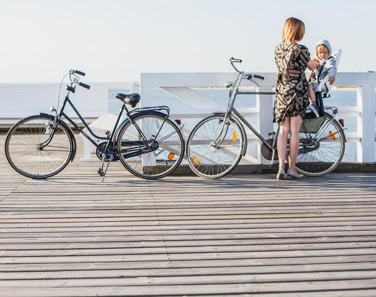 rodzinna stylizacja na rower