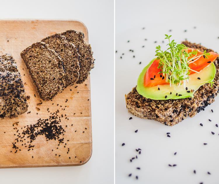 Pyszny chleb zawierający mnóstwo kwasu omega 3