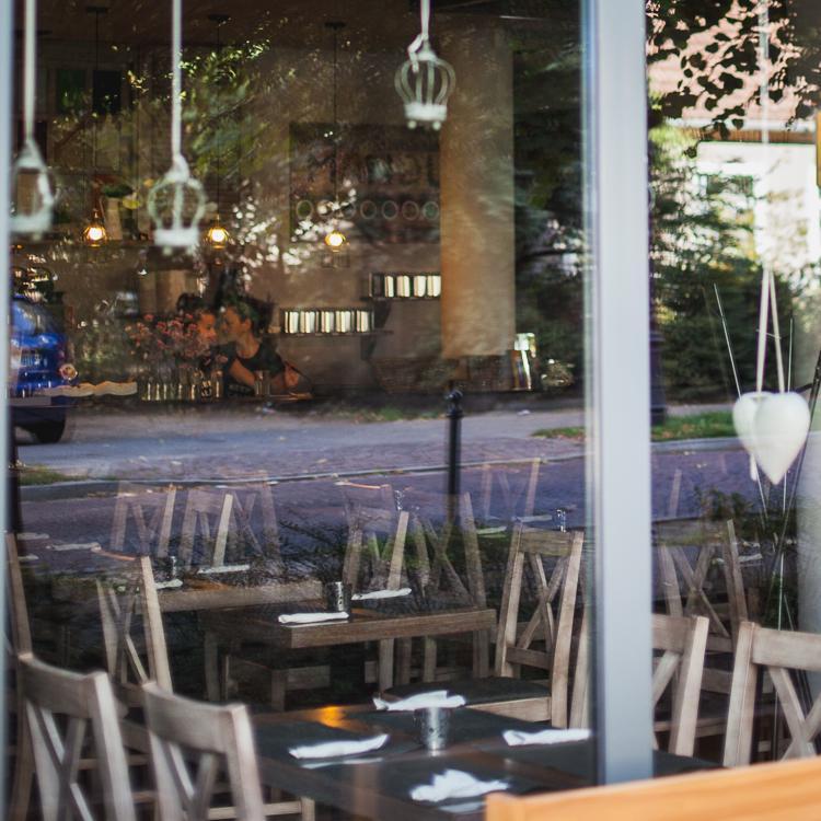 wnętrze restauracji Mandu znanej ze świetnych pierogów