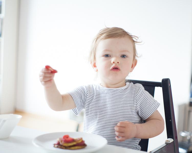 dziecko lubi dobrze zjeść