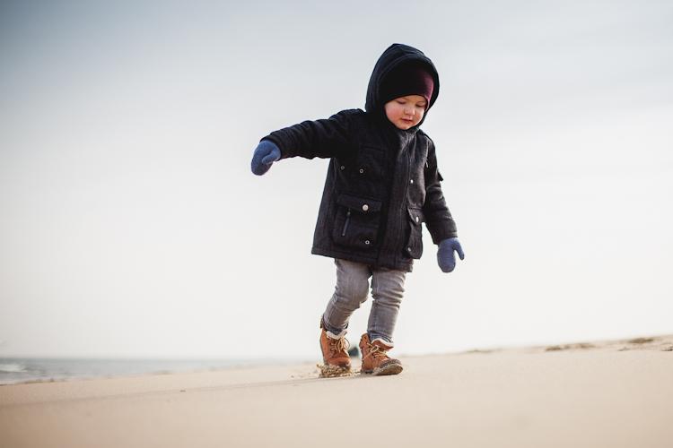 zabawy z dzieckiem na plaży