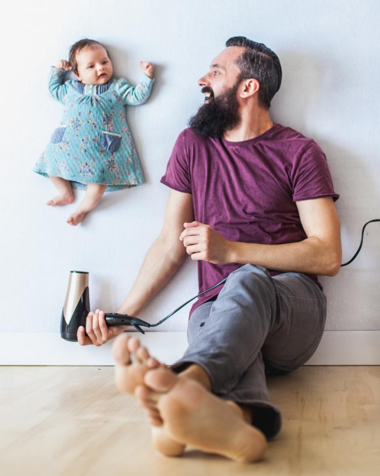 beautiful parenting pictures of dad and daughter