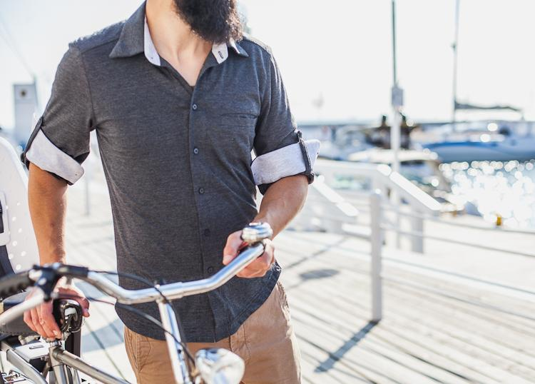 bike ride man outfit