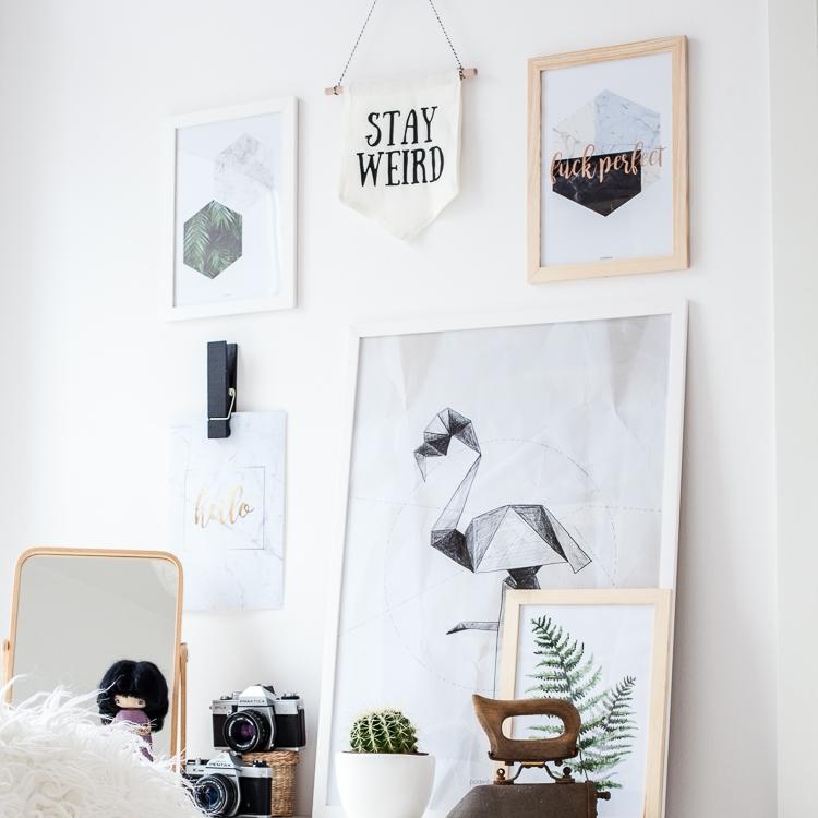 inspiracje na modne plakaty ścienne