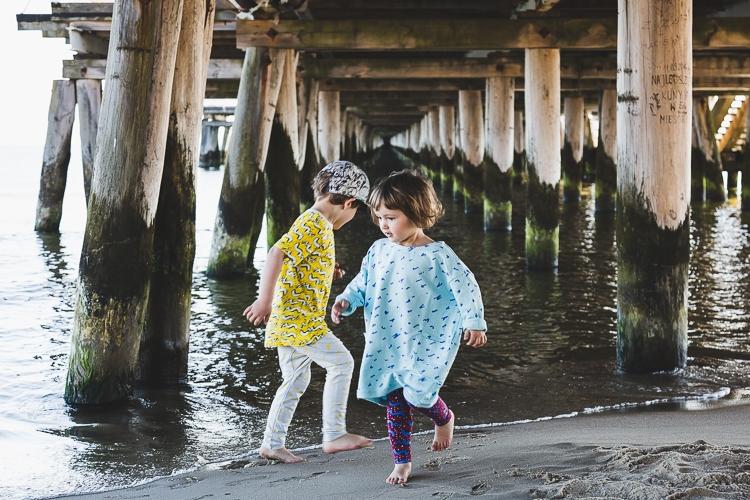 dziecięca moda na plaży
