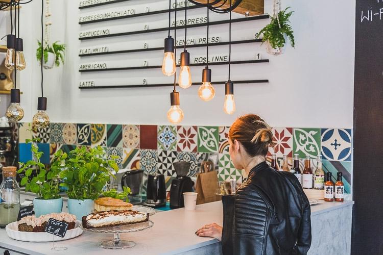 wnętrze kawiarni 3 Siostry w Katowicach