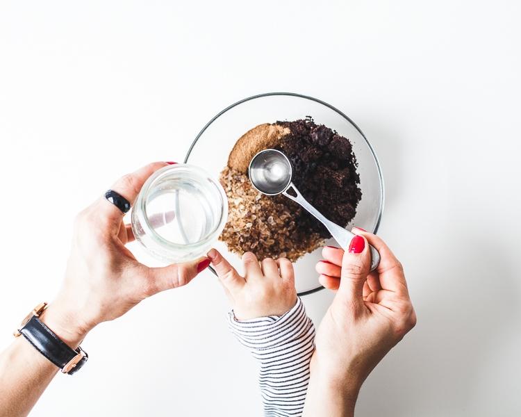 peeling kawowy w domu