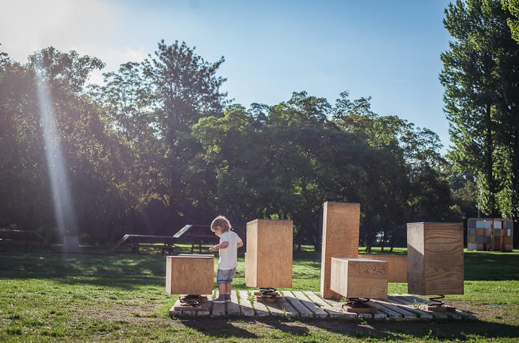 nowy plac zabaw w Parku Rady Europy w Gdyni