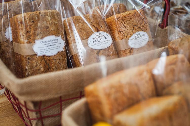przepyszny chleb bezglutenowy w eko delikatesach Oficyna w Gdyni