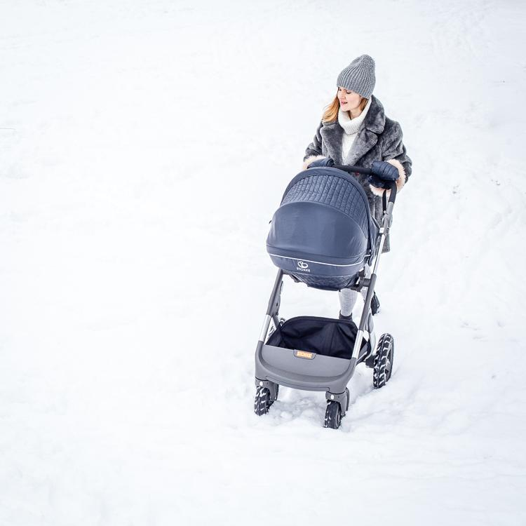 stokke trailz z winter kit black
